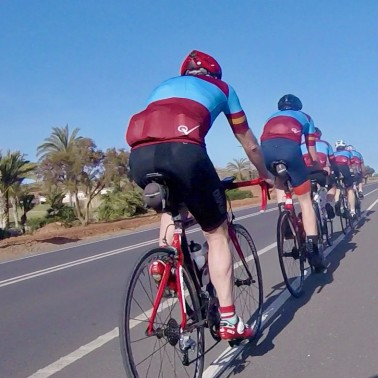 Guided Cycling Holidays and Training Camp Mar Menor Murcia Spain with Bike Hire