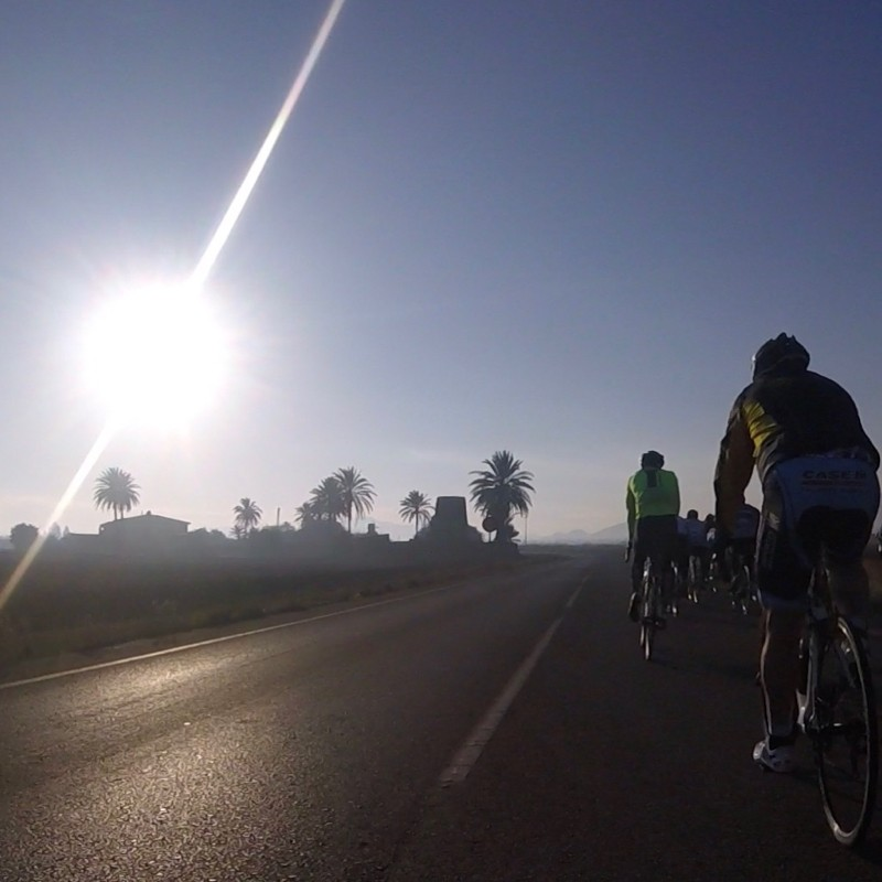 Self guided cycling holidays in Murcia Spain.