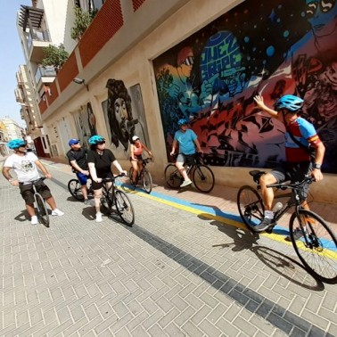 Urban art bike tour Murcia