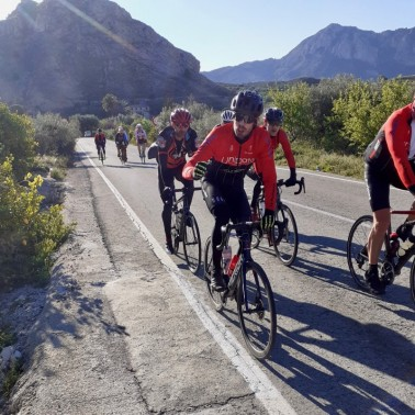 Cycling in Murcia Audax