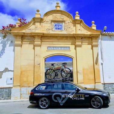 Cycling in Calpe with full Pro-style support
