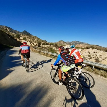 Cycling in Murcia Audax RIcote Valley