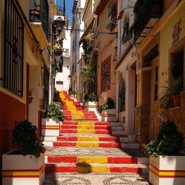 Calpe a cycling mecca with a quaint old town to explore