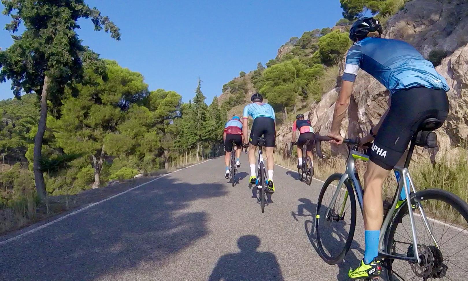 Murcia Cycling Holidays Sierra Espuna